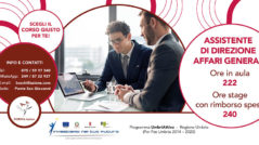 Corso da assistente di direzione aziendale, affari generali in Umbria