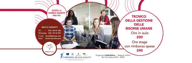 Corso tecnico della gestione delle risorse umane in Umbria
