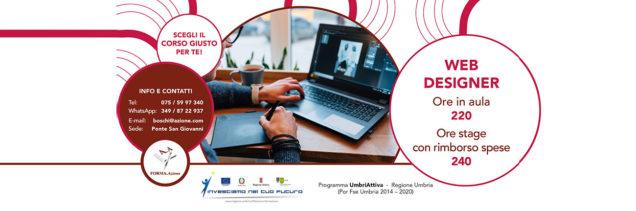 Corso web designer Umbria FORMA.Azione Perugia
